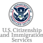 US Citizenship and Immigration Services USCIS DHS Logo