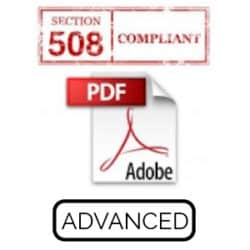 Adobe Acrobat Pro Section 508 Accessibility Advanced Live Hands-On Instructor-Led Training Class