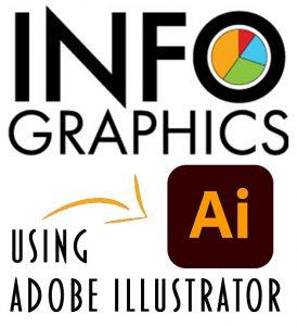 Infographics Using Adobe Illustrator Logo