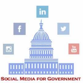 Social Media for Government Logo