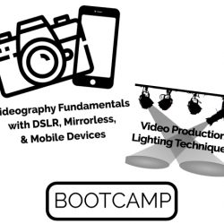 Videography Fundamentals & Video Production Lighting BootCamp Live Hands-On Instructor-Led Training Class
