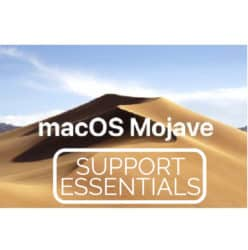 Apple macOS Support Essentials 10.14 – Mojave 101 (Course #: APL-MAC101-140) Live Hands-On Instructor-Led Training Class