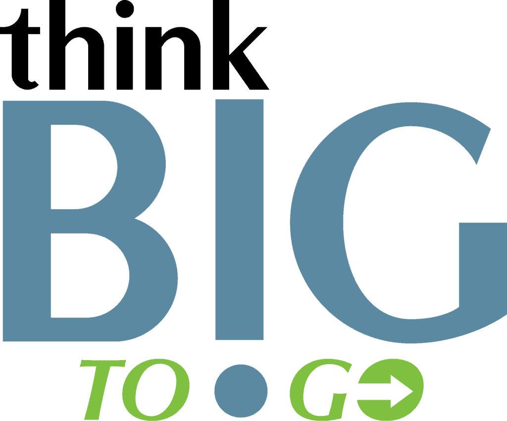 ThinkB!G TO GO Logo
