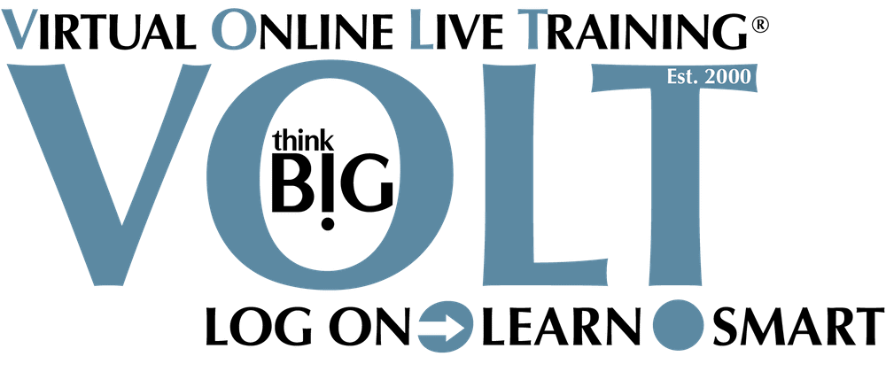 Virtual Online Live Training from Anywhere! ThinkBIG