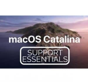 macOS Catalina Support Essentials Logo