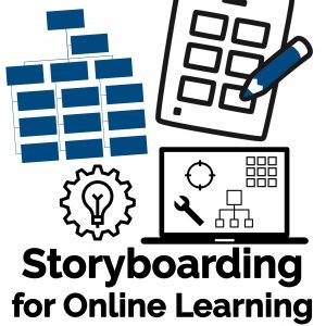 Storyboarding for Online Learning Logo