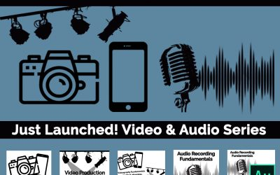 Just Launched! Videography & Audio Series | Articulate 360 Rise | Online Live Training!